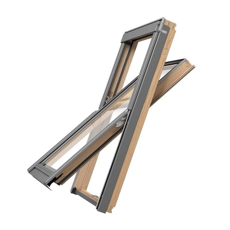 Okno dachowe Rooflite Slim Pine 55x78