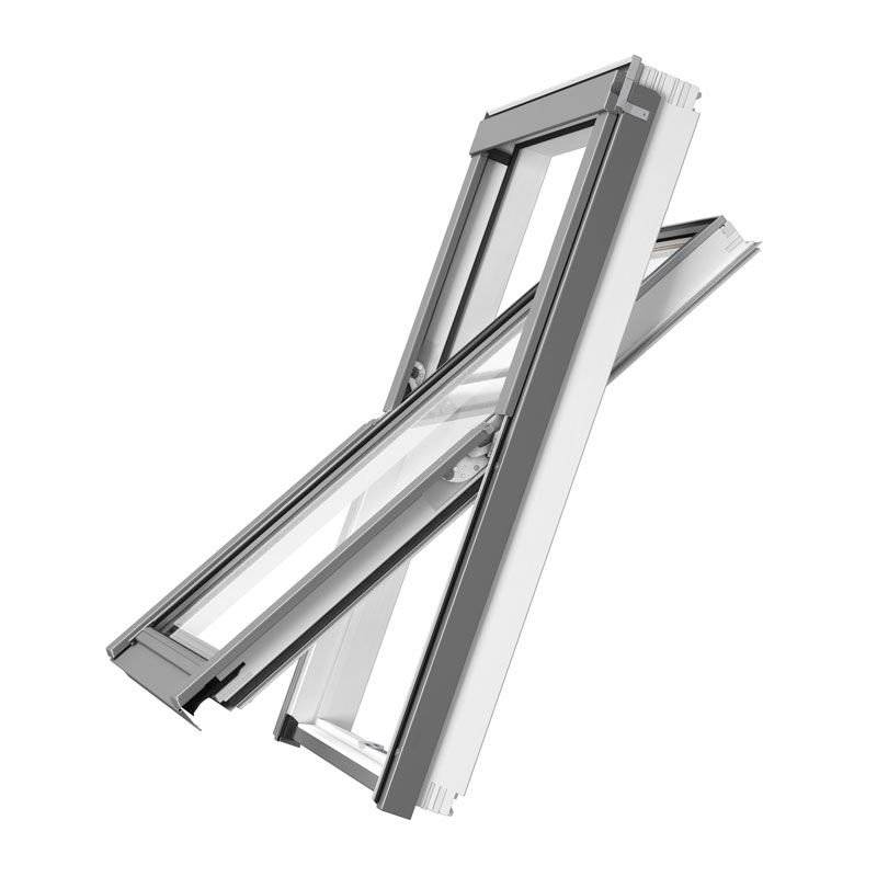 Okno dachowe Rooflite Solid PVC 66x118