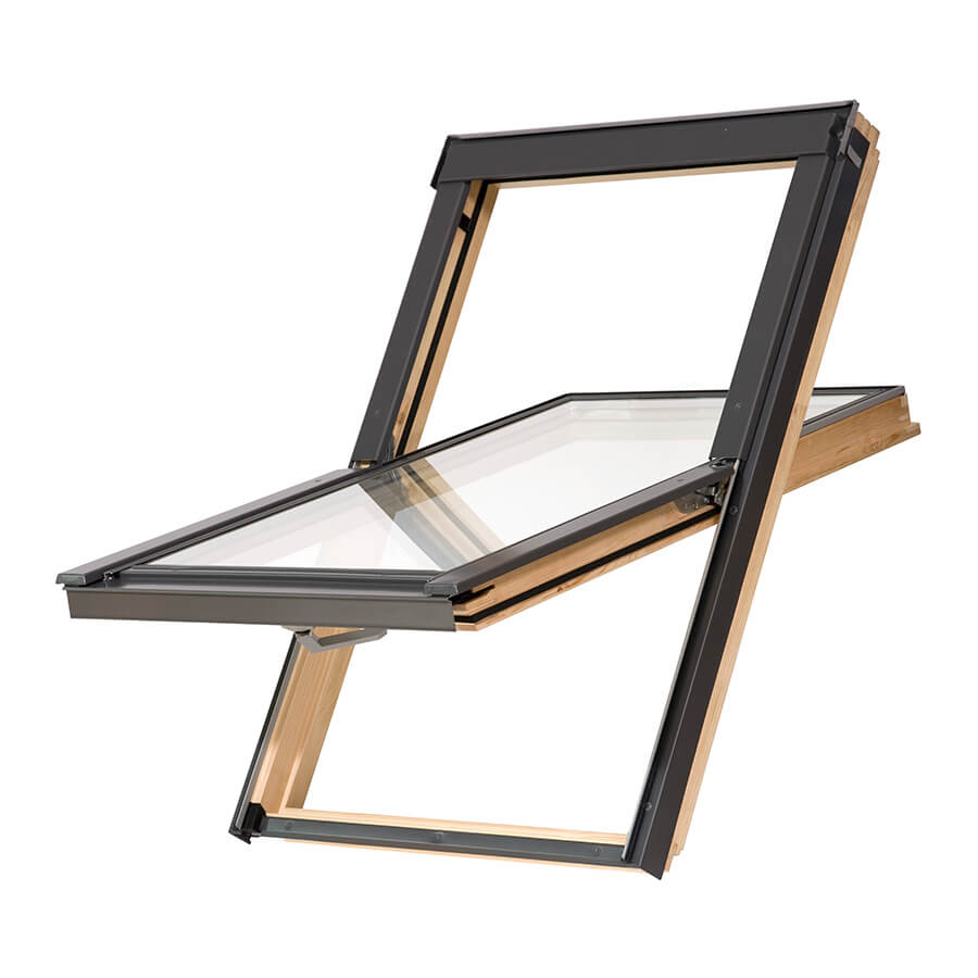 Okno dachowe drewniane MAGNETIC BASIC 78x140