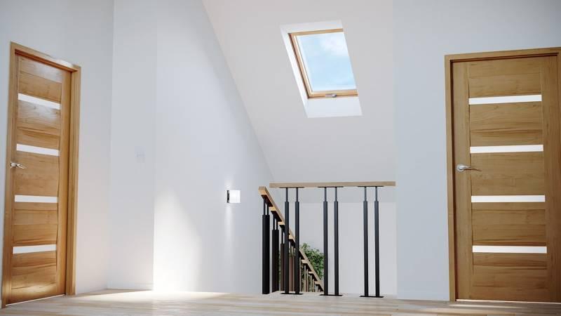 Okno dachowe drewniane MAGNETIC BASIC 78x98