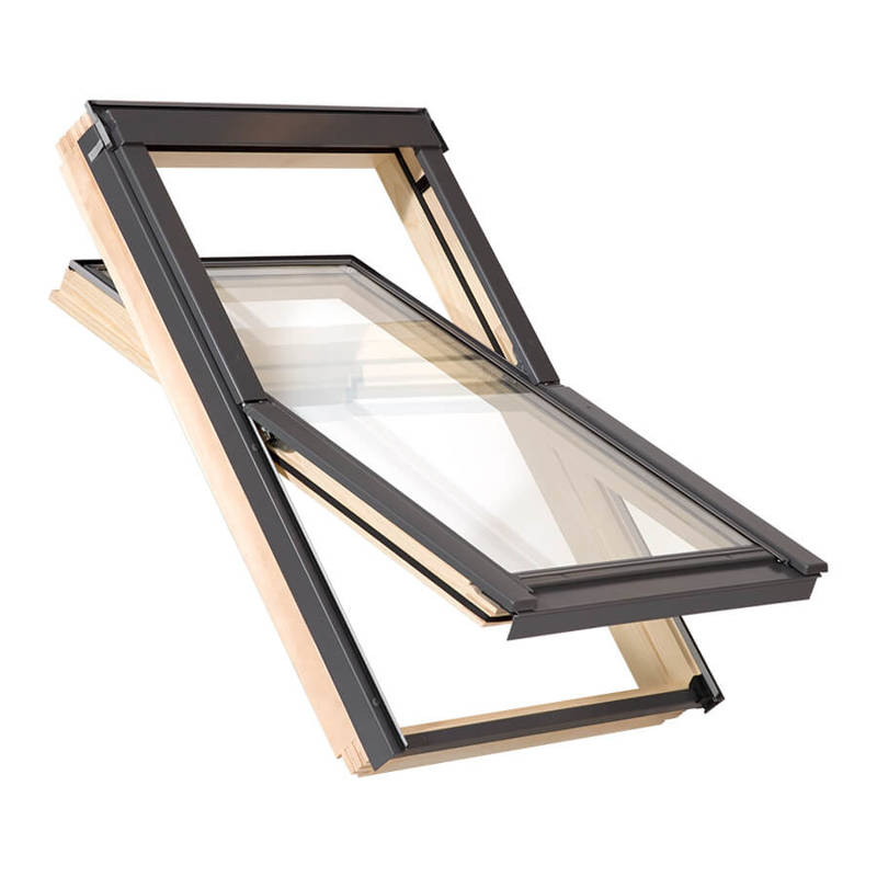 Okno dachowe drewniane MAGNETIC PLUS 78x118