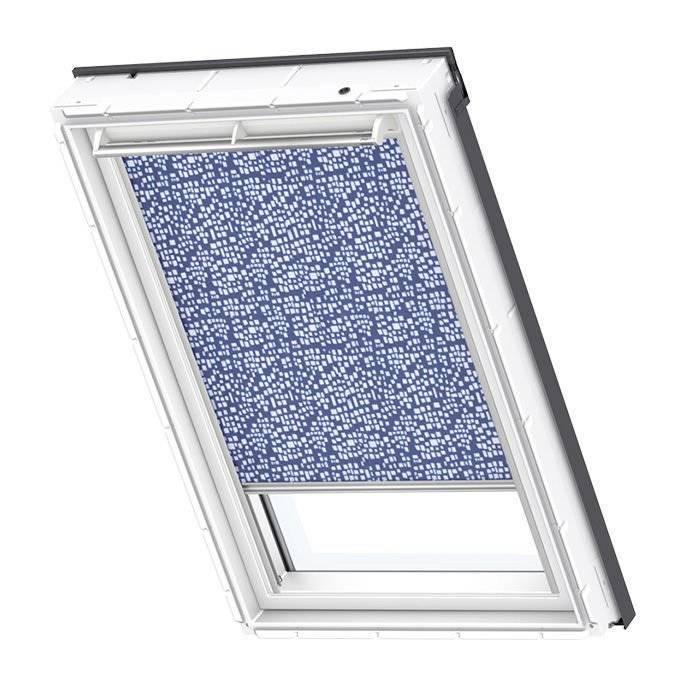 Roleta dekoracyjna geometryczny wzór Velux RFL MK04 78x98 manualna Premium