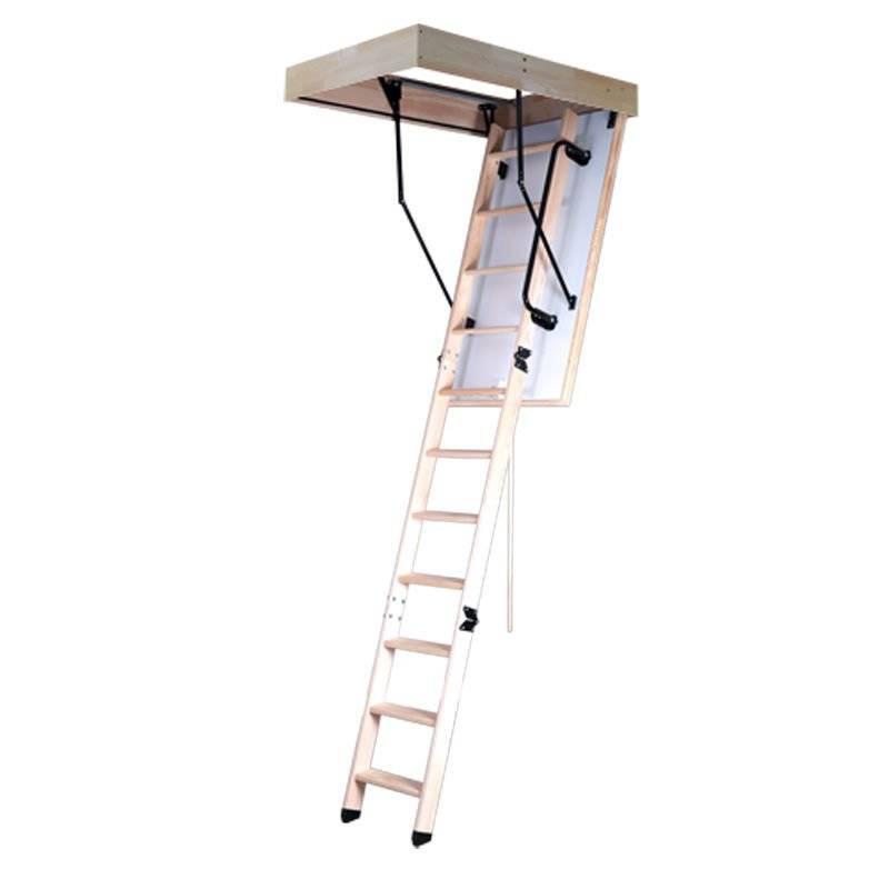 Schody strychowe Magnetic Step Premium z ocieplaną klapą