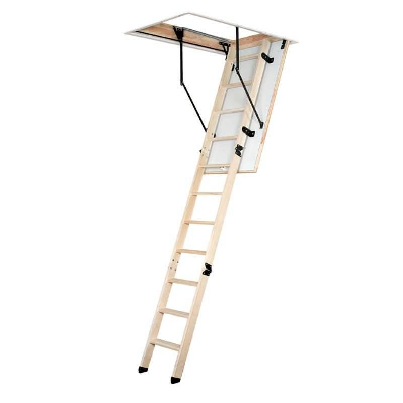 Schody strychowe Magnetic Step Prima z 3-sekcyjną drabinką