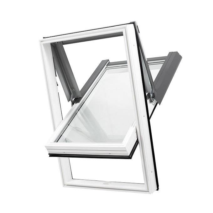 okno dachowe SKYLIGHT PCV 78x140 białe