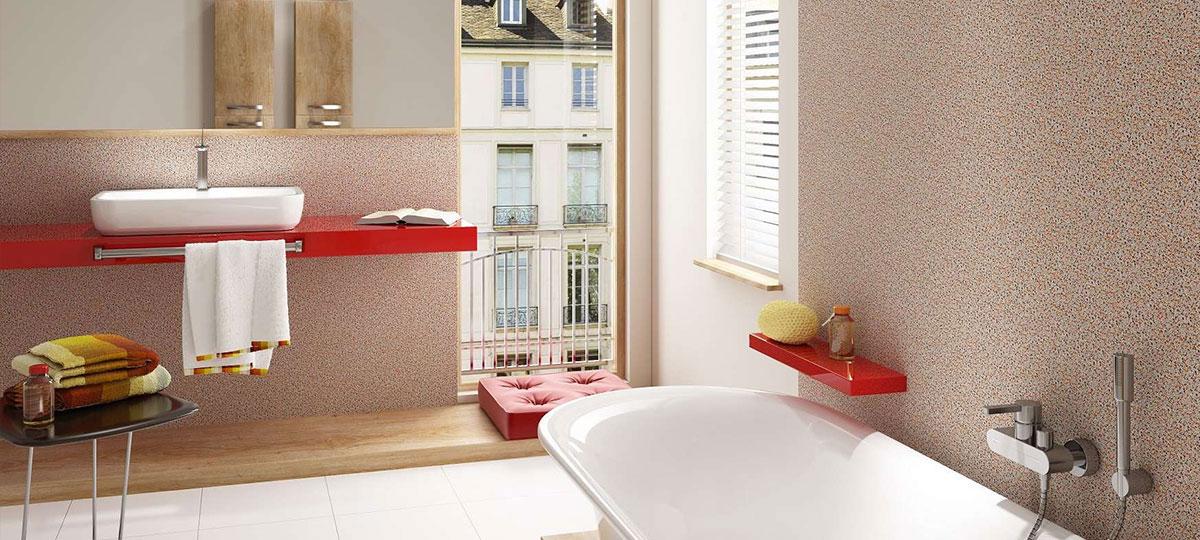 Tynk mozaikowy – niezastąpiony kompan łazienek