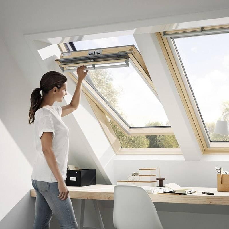 okno dachowe velux ggl 3066 uk04 134x98 okna i wy azy dachowe w. Black Bedroom Furniture Sets. Home Design Ideas